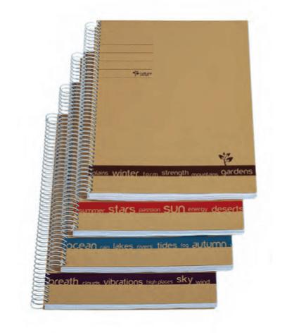 Cuaderno ecológico NatureSpirit