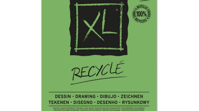 Papel de dibujo reciclado