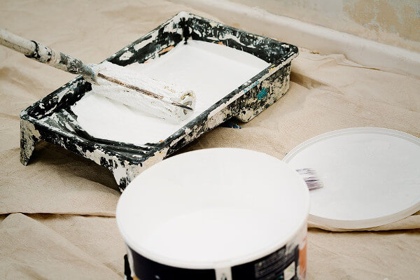 Pintura blanca para interiores