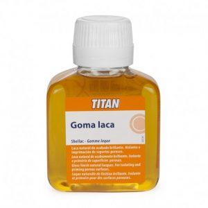 Bote de goma laca Titan