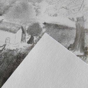 Textura del papel Canson XL Recyclé