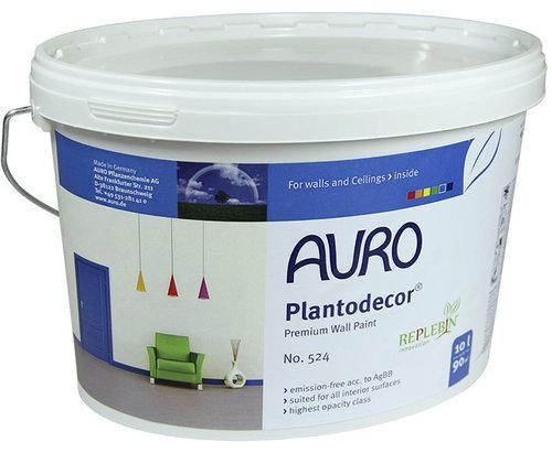 Plantodecor, pintura fabricada por Auro por uno de los mayores Fabricantes de Pinturas Ecológicas
