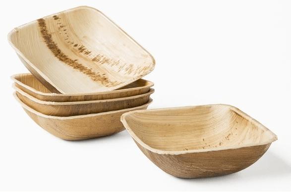 Vajilla ecológica Leafware