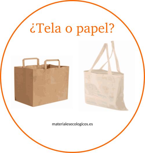 aa82df7d7 Bolsas ecológicas de papel o tela: una buena alternativa a las de ...