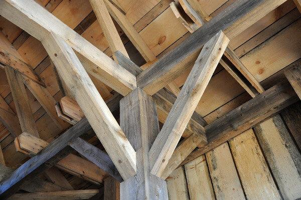 Madera ecológica: cubierta ligera de madera