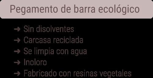Pegamento de barra ecológico