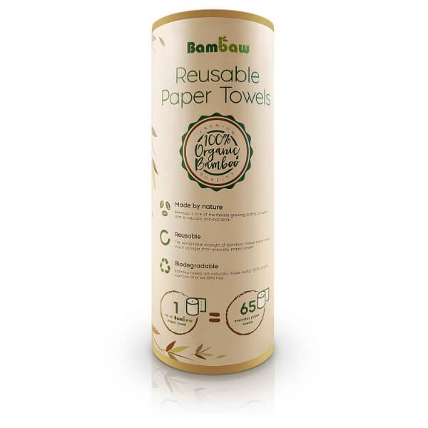 Toallitas ecologicas de bambú