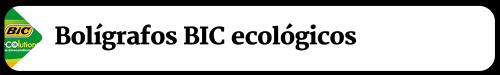 Boligrafos Bic Ecologicos