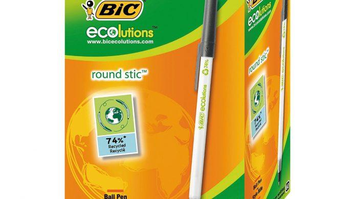 Boligrafos ecológicos Bic