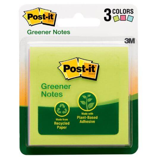 Notas Post-It ecológicas