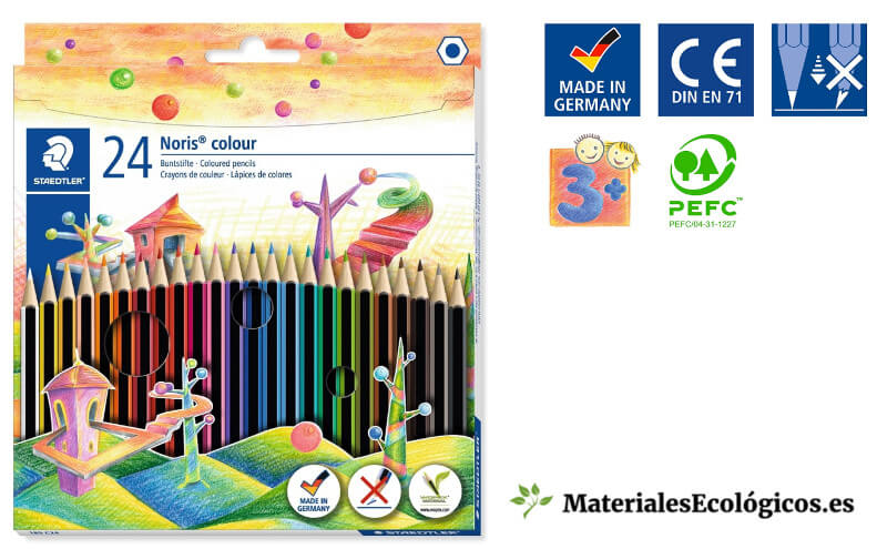 Pinturas escolares ecológicas Staedtler