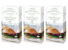 Hamburguesas veganas Linda McCartney