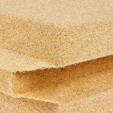 Panel aislante de fibra de madera machihembrado