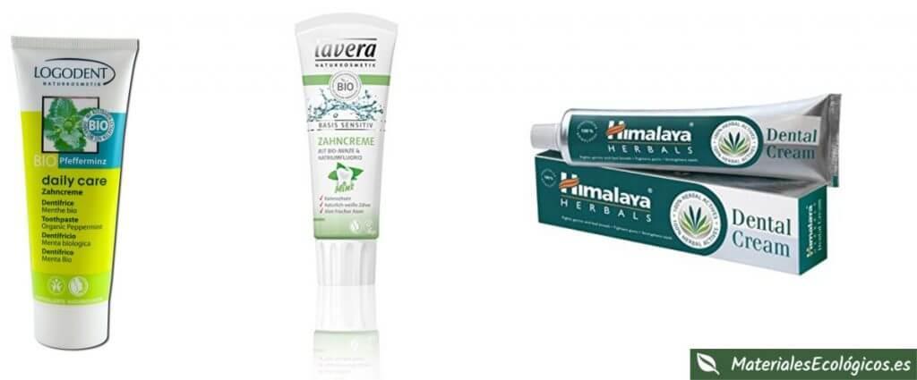 Pasta de dientes ecológica