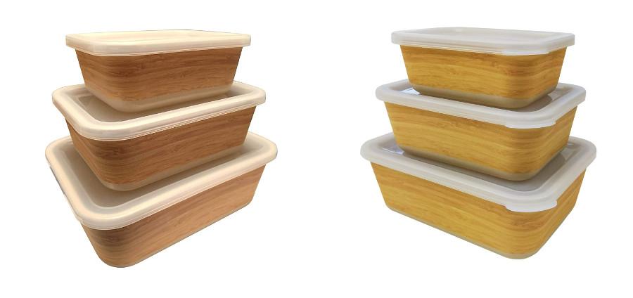 Tuppers ecológicos de bambú
