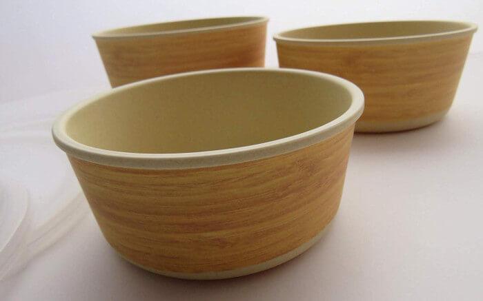 Tupper de bambú