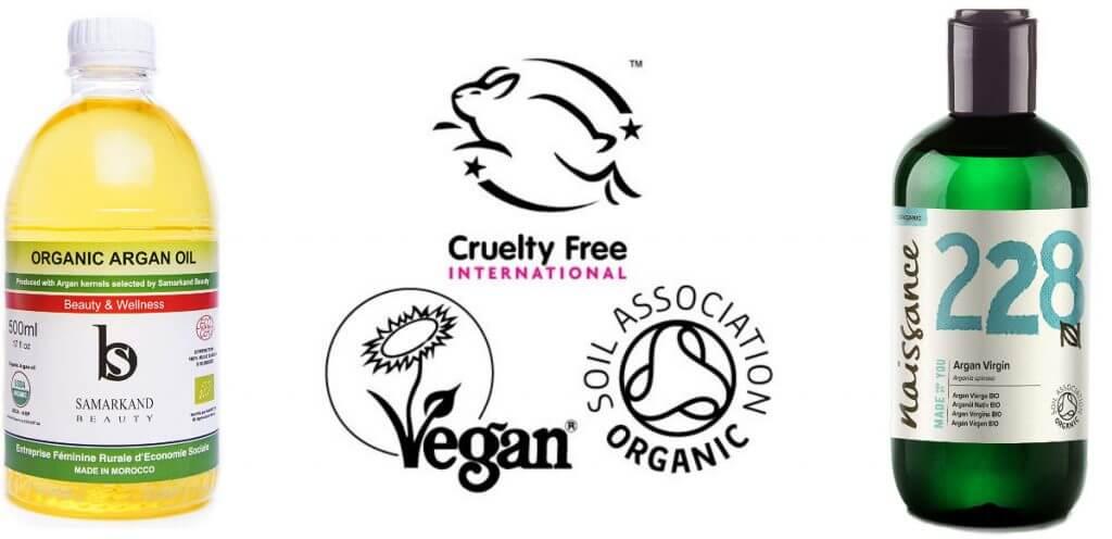 Aceite de argán ecológico y vegano