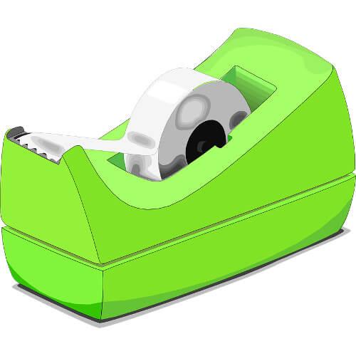 Celo ecológico: cinta adhesiva sin disolventes