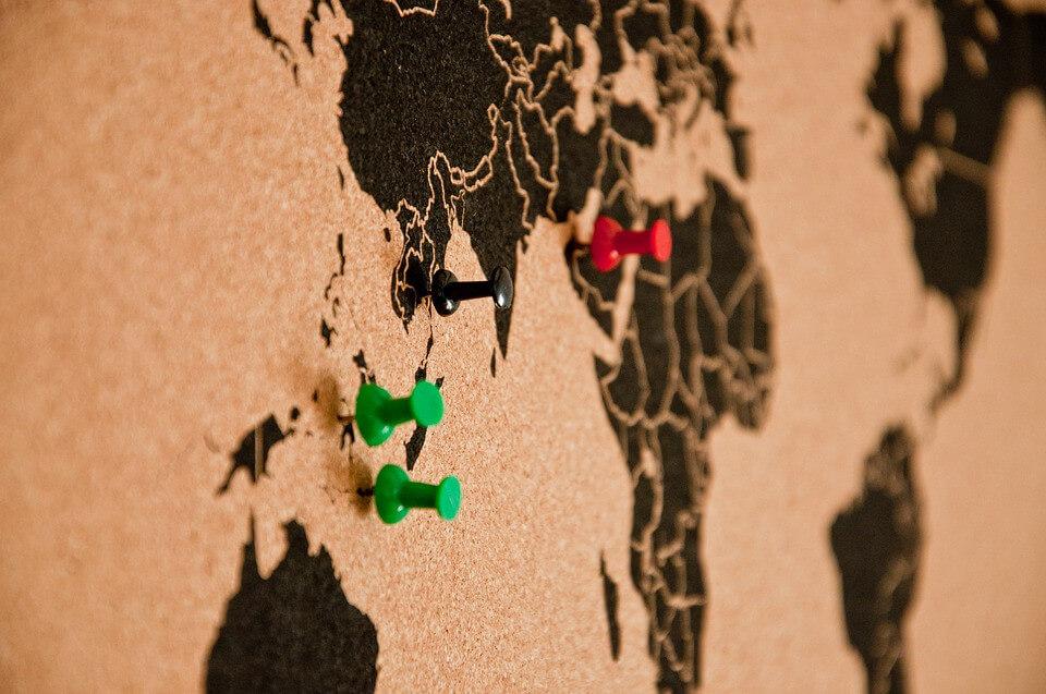Aislante de corcho en pared