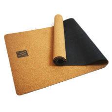 Esterilla de yoga ecológica de corcho natural