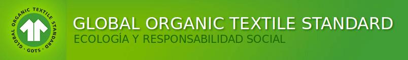 Certificado algodón orgánico GOTS