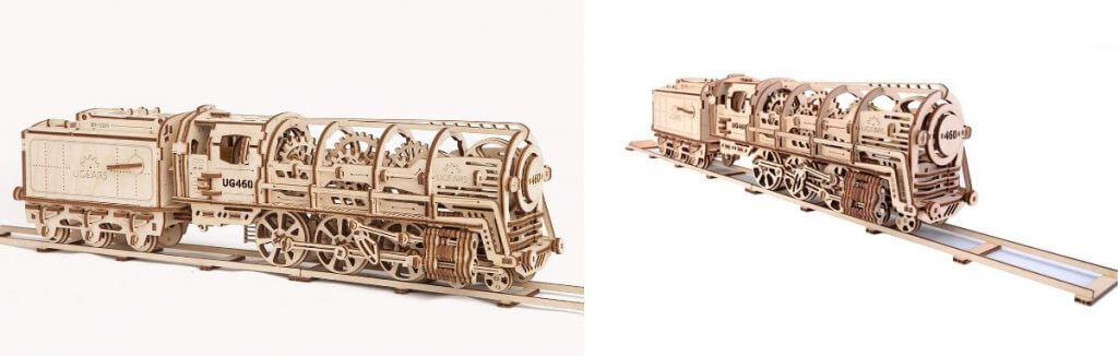 Modelos mecánicos de madera Ugears