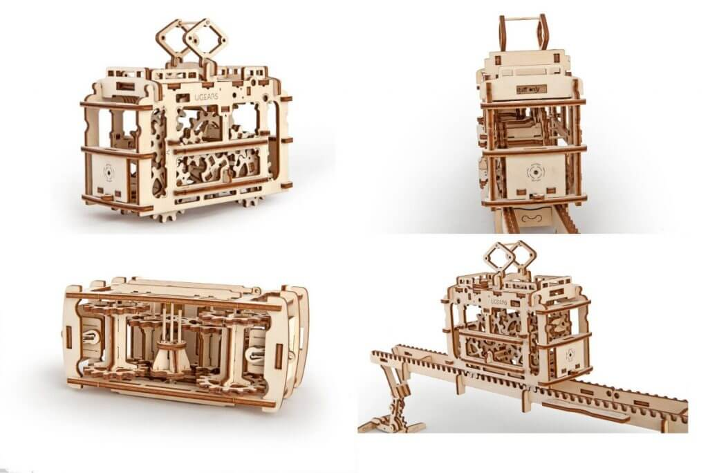 Maquetas de madera contrachapada Ugears