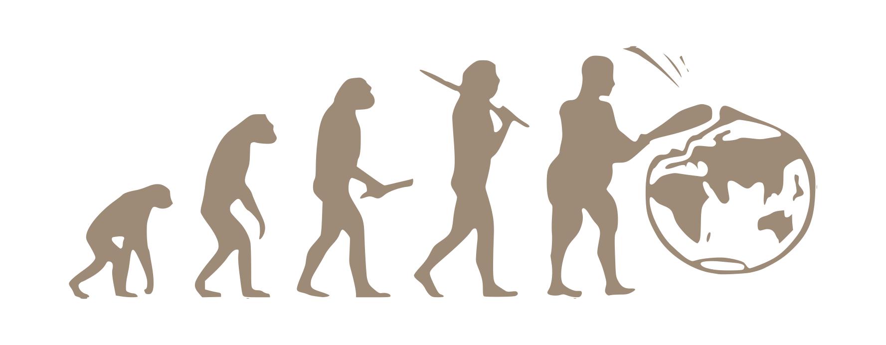 Evolución hombre y planeta tierra