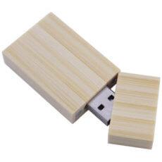 Memorias USB de bambú, madera o corcho ecológicas