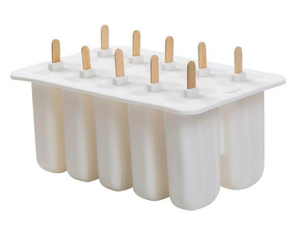 Moldes helados silicona