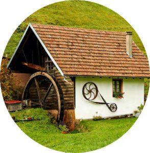 Casa hecha con materiales de construcción ecológicos