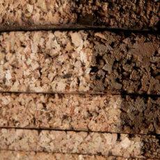 Planchas aislantes de corcho