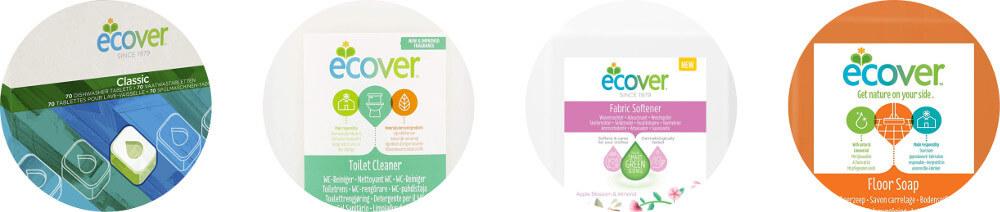 Productos de limpieza Ecover