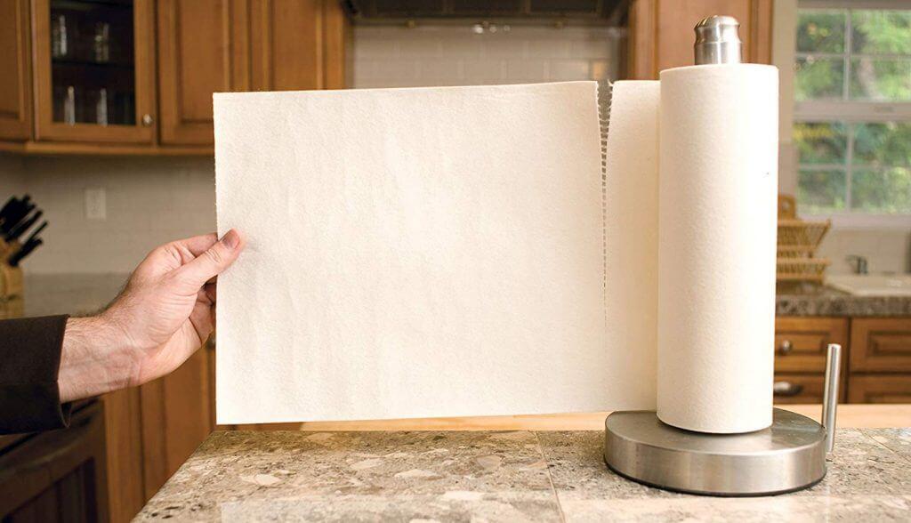 Papel de cocina reutilizable
