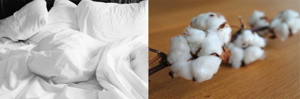 Sábanas ecológicas de algodón orgánico