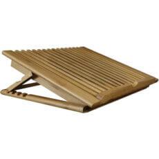 Soportes para portátiles de bambú