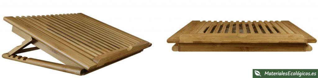 Soportes ecológicos para portátiles y tablets