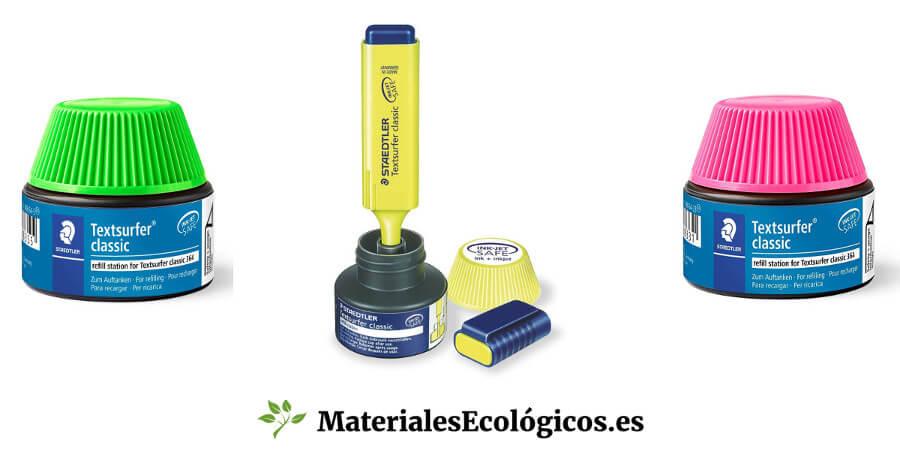Tinta para rellenar marcadores fluorescentes Staedtler Textsurfer