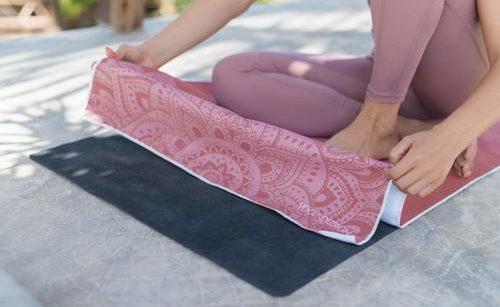 Toallas ecológicas de yoga