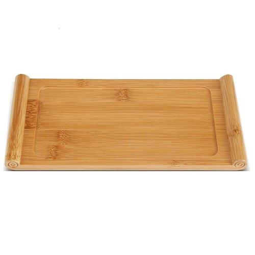 Bandejas de cocina de bambú