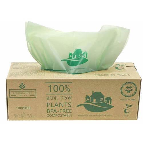 Comprar bolsas de basura biodegradables