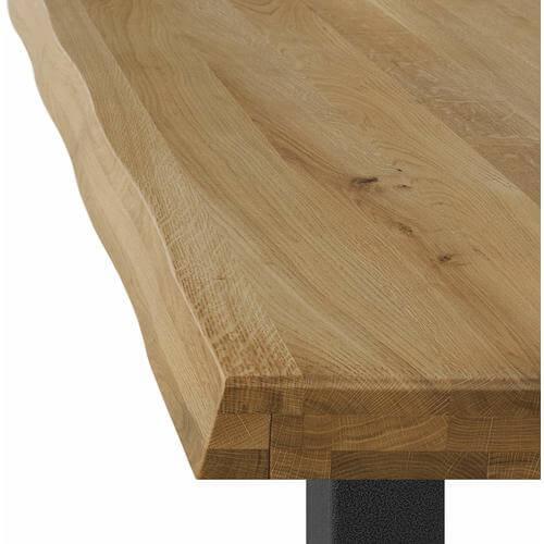 Mesa comedor roble macizo