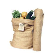 Sacos de yute para hortalizas y verduras
