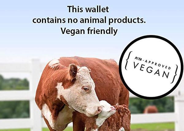 Carteras veganas aprobadas por peta