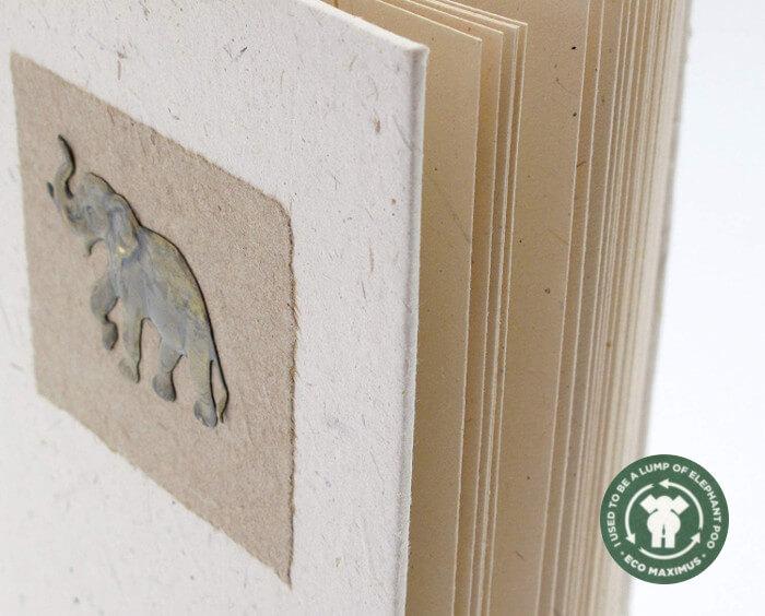 Cuaderno excremento elefante
