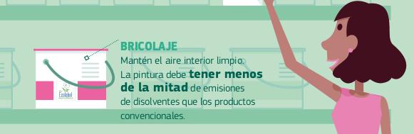 Ecolabel pintura plástica COV