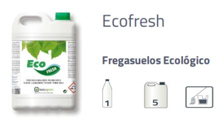 Limpiasuelos ecológico Ecofresh