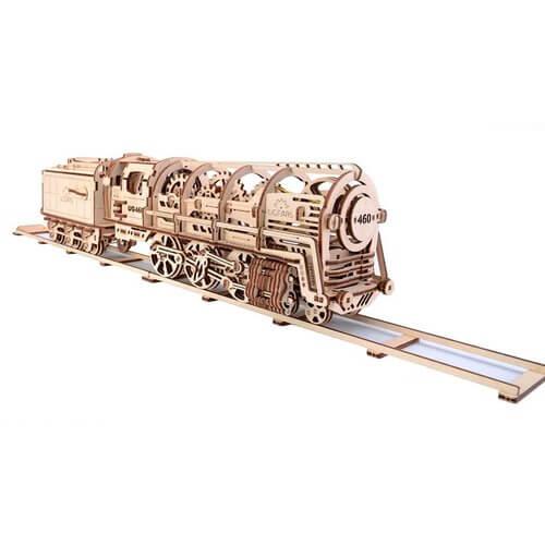 Maqueta de locomotora