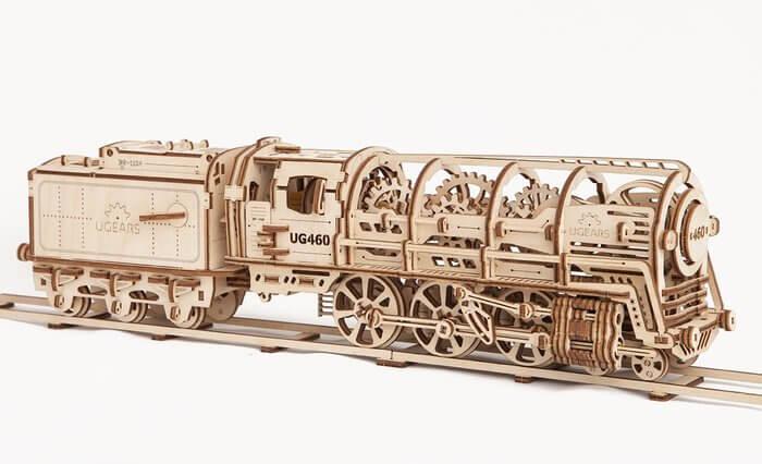 Locomotora ecológica Ugears