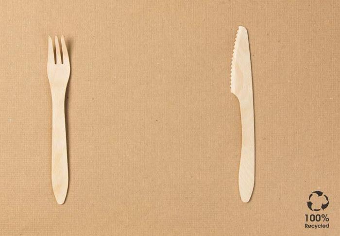 Manteles reciclados de papel sin blanquear